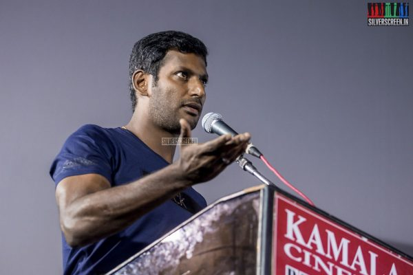 Vishal at the Kee Audio Launch
