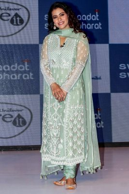 Kajol Launches 'Swachh Aadat, Swachh Bharat' Campaign In Mumbai