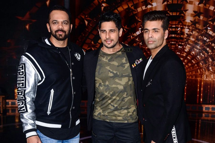 Karan Johar, Rohit Shetty During The Promotions Of India's Next Superstars