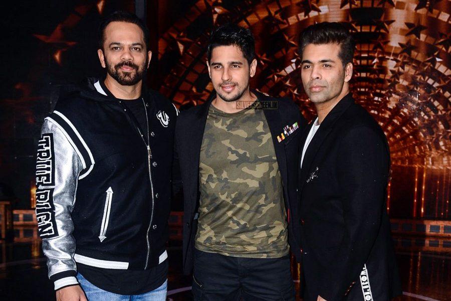 Karan Johar, Rohit Shetty During The Promotions Of India's Next Superstars