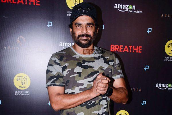 Madhavan At The Screening Of Amazon Prime Web-Series Breathe