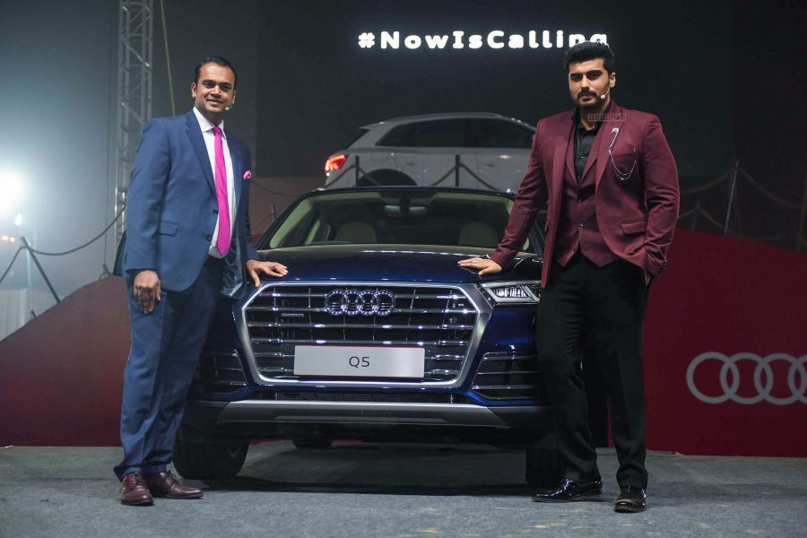 Arjun Kapoor At The Audi Q5 Launch