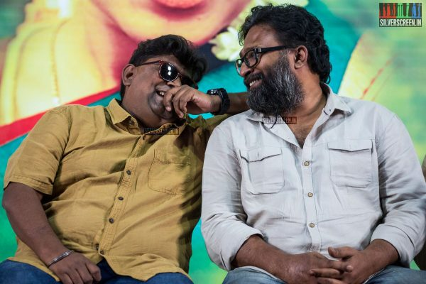 Mysskin and Ram at the Savarakathi Press Meet