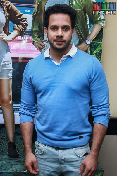 Bharath At The Gulaebaghavali Movie Premiere