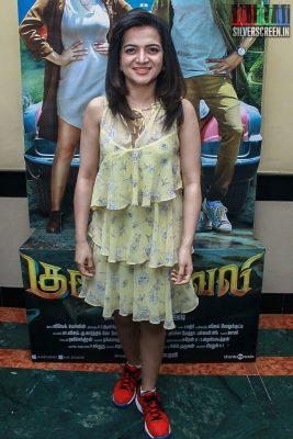 Divyadarshini At The Gulaebaghavali Movie Premiere