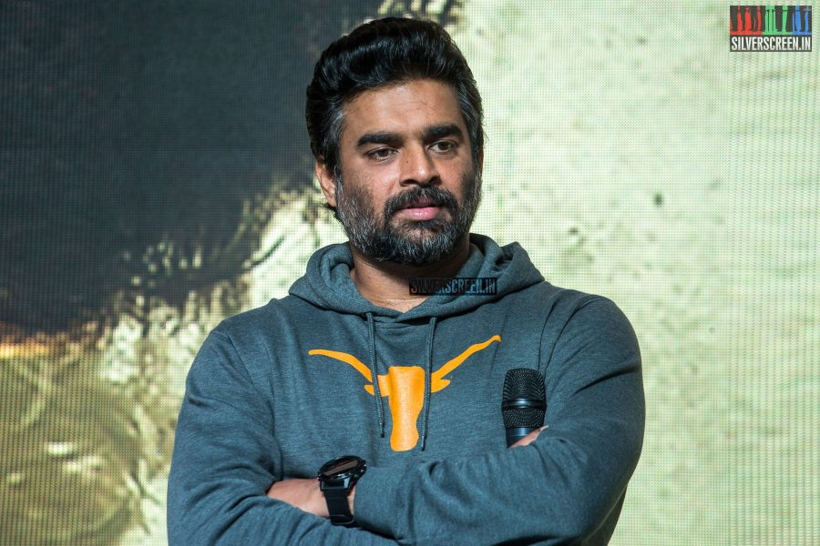 R Madhavan At The Trailer Launch Of Amazon Prime's Breathe
