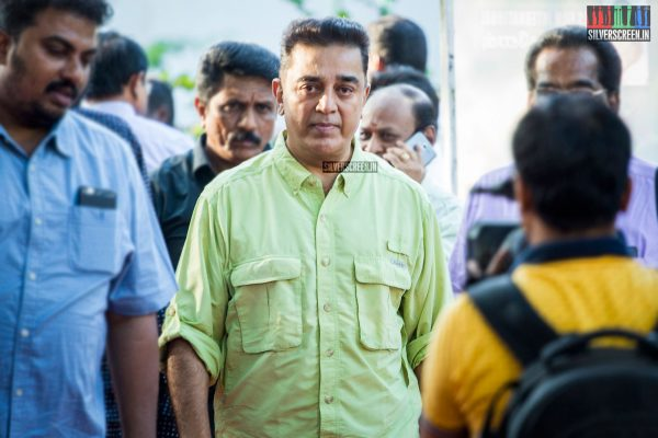 Kamal Haasan at The Kizhakku Appricavil Raju Movie Launch