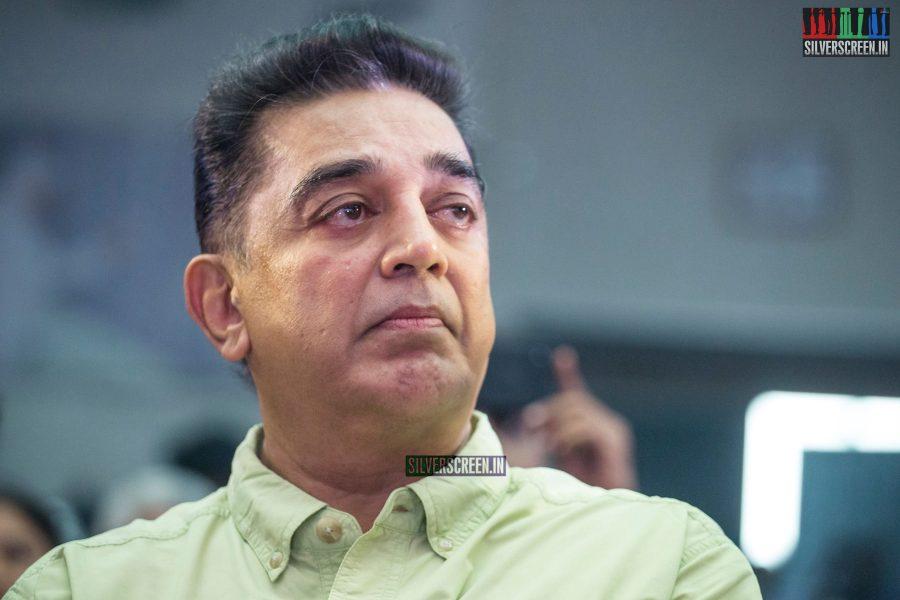 Kamal Haasan at The Kizhakku Appricavil Raju Movie Launch