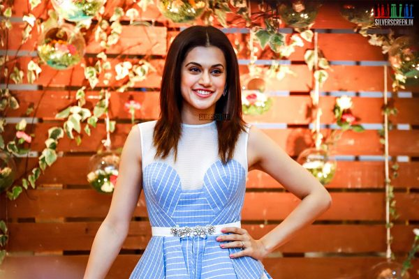 Taapsee Pannu At The Launch Of Once Upon A Time Calendar