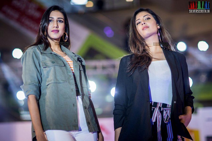 Ashwini Kumar and Sameea Bangera At The Republic Day Celebrations & Grand Finale Of A Shopping Festival In Chennai