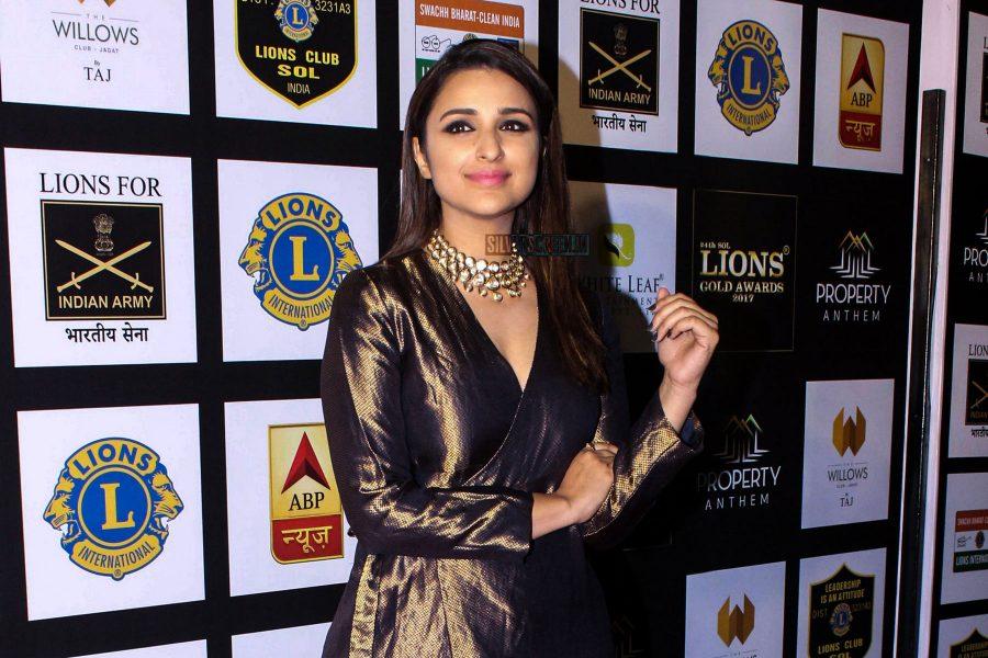Parineeti Chopra At The Lions Gold Awards