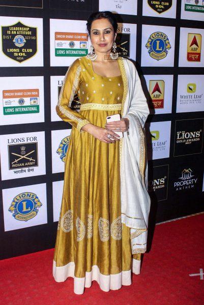 Shabana Azmi, Parineeti Chopra At The Lions Gold Awards