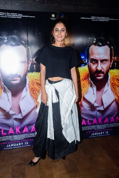 Isha Talwar At The Kaalakaandi Movie Premiere