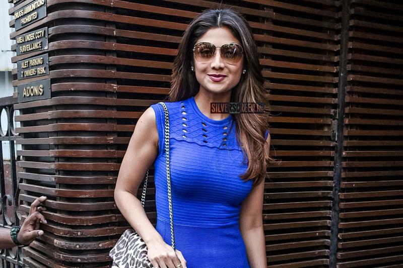 Shilpa Shetty At Celebrity Blogger Malini Agarwal's Book Launch In Mumbai