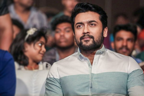 Suriya At The Gang Pre Release Event