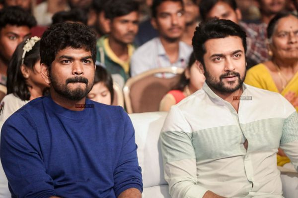 Suriya and Vignesh Shivan At The Gang Pre Release Event
