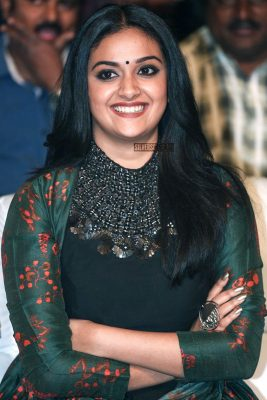 Keerthy Suresh At The Gang Pre Release Event