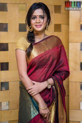 Anjana At The Thaanaa Serndha Koottam Press Meet