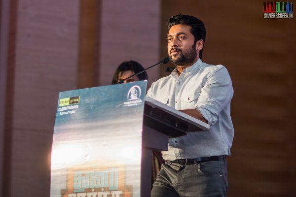 Suriya At The Thaanaa Serndha Koottam Press Meet