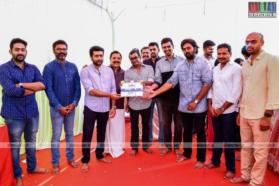 Suriya, Selvaraghavan And Others At The Suriya 36 Movie Launch