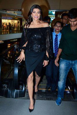 Sushmita Sen At The Zoya Store Launch In Mumbai