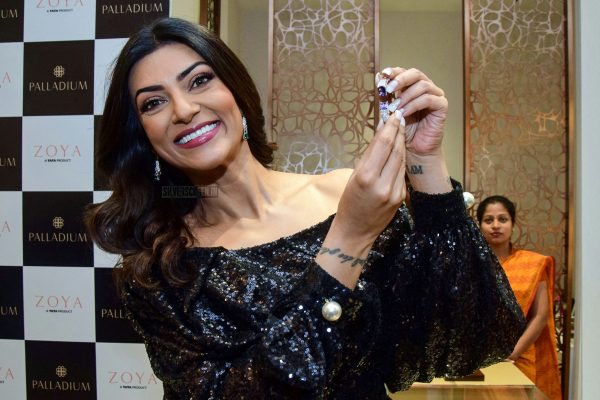 Sushmita Sen At The Zoya Store Launch In Mumbai