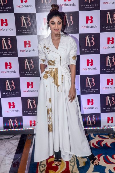 Shilpa Shetty At The Brand Vision Summit And Awards Ceremony