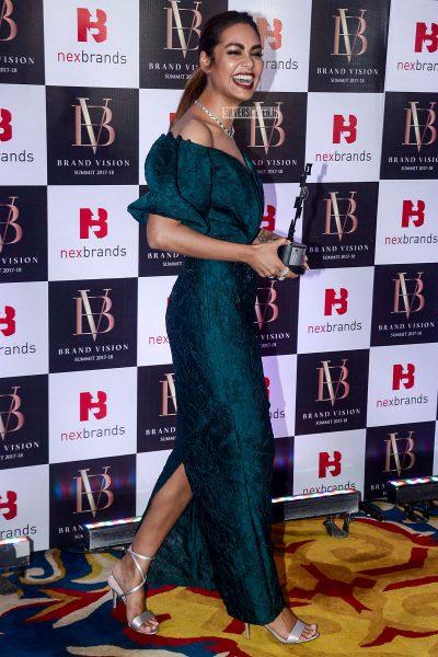 Esha Gupta At The Brand Vision Summit And Awards Ceremony