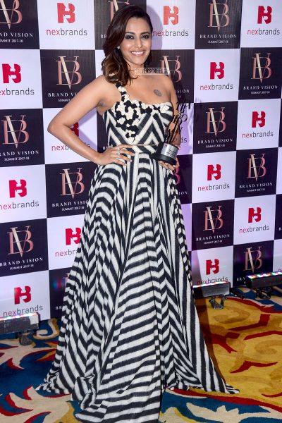 Swara Bhaskar At The Brand Vision Summit And Awards Ceremony