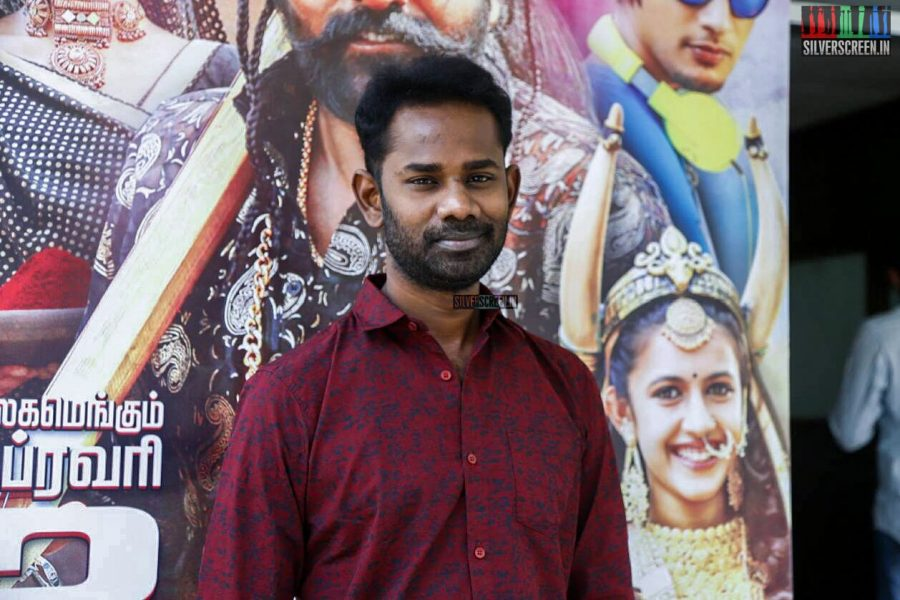 Oru Nalla Naal Paarthu Solren Press Meet Photos