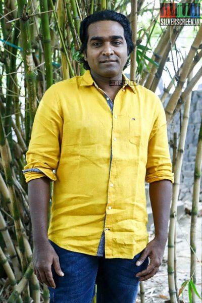 Vijay Sethupathi at the Oru Nalla Naal Paarthu Solren Press Meet