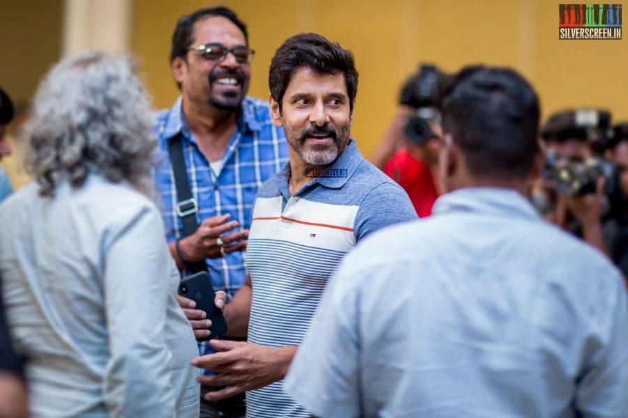 Vikram at the Sketch Success Meet