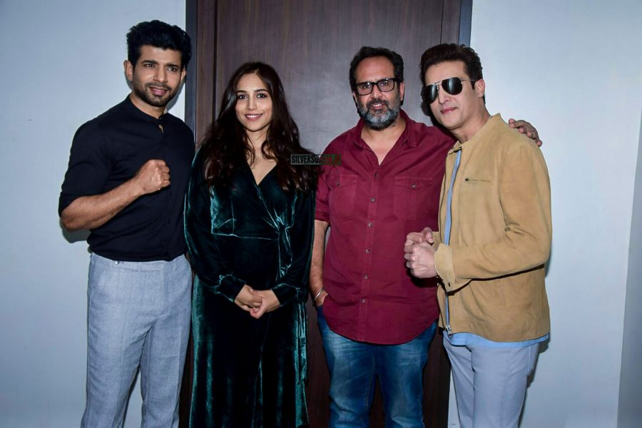 Vineet Kumar Singh, Jimmy Shergill & Others During The Promotions Of Mukkabaaz