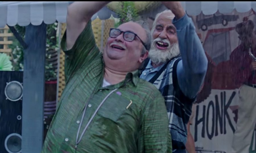 Amitabh Bachchan and Rishi Kapoor reunite on screen as father and son