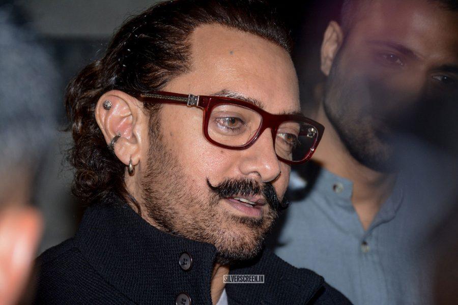 Aamir Khan At The Secret Superstar Success Meet