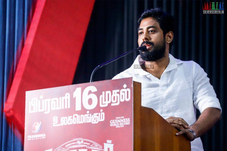 Aari At The Nagesh Thiraiyarangam Press Meet