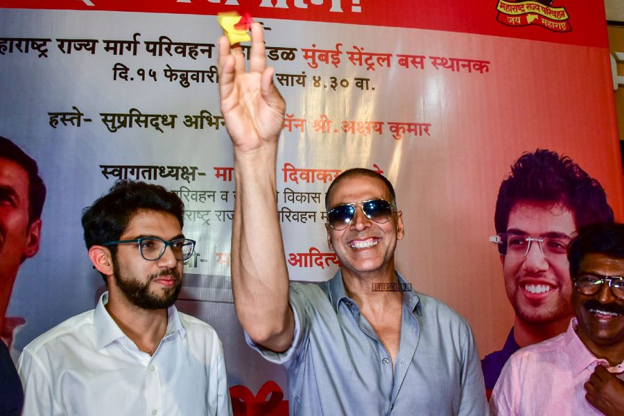 Akshay Kumar At The Launch Of The First Sanitary Pad Vending Machine in Mumbai