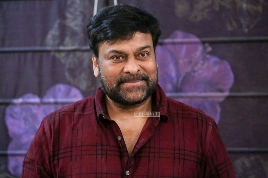 Chiranjeevi At The Tholi Prema Press Meet