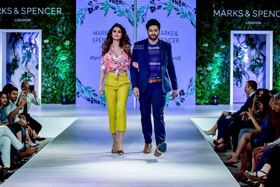 Esha Gupta, Ali Fazal At The Launch Of Marks & Spencers 2018 Collection