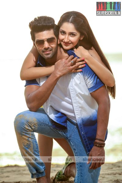 Ghajinikanth Movie Stills Starring Arya, Sayyeshaa And Others