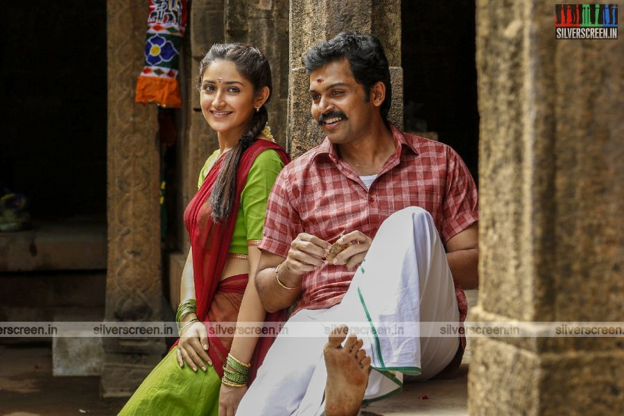 Kadaikutty Singam Movie Stills Starring Karthi And Sayyeshaa