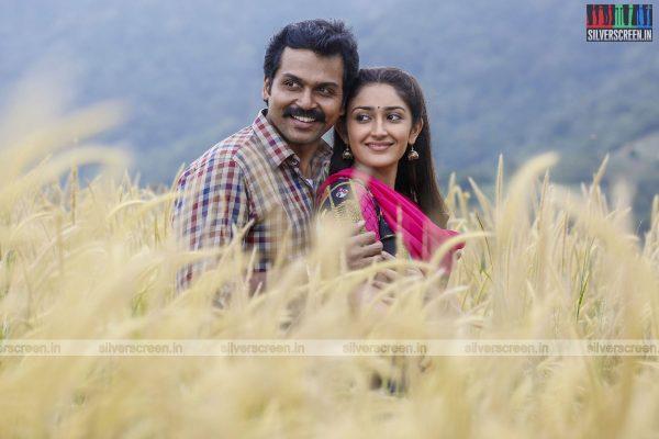 Kadaikutty Singam Movie Stills Starring Karthi And Sayyeshaa
