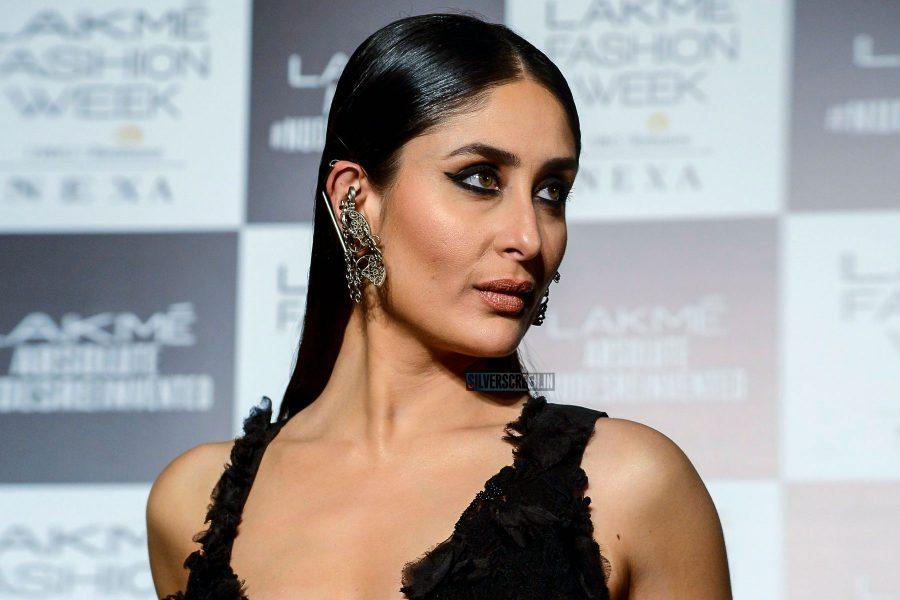 Kareena Kapoor At The Lakme Fashion Week