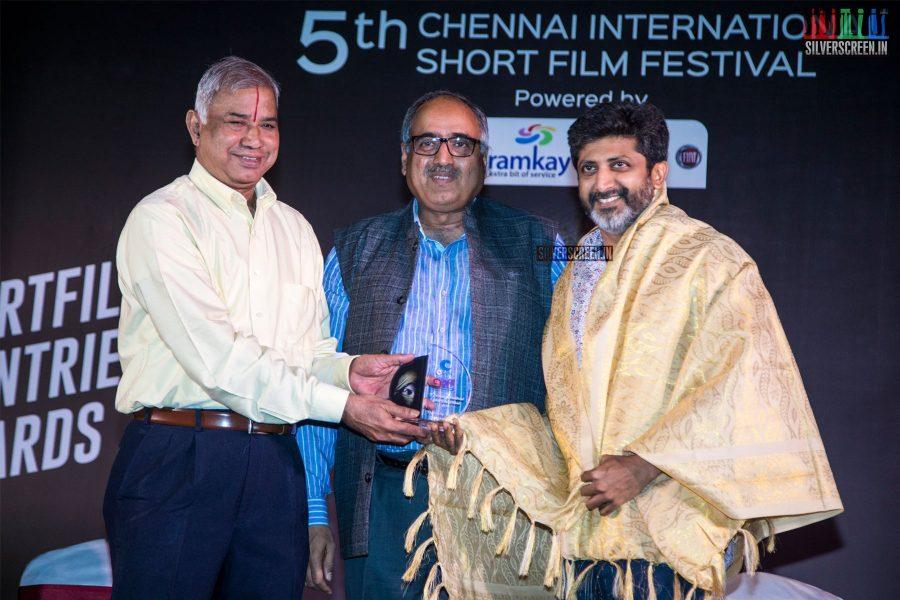 Mohan Raja At The Inauguration Of The 5th Chennai International Short Film Festival