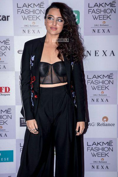 Sonakshi Sinha At The Lakme Fashion Week