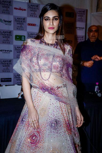 Kriti Sanon At The Lakme Fashion Week