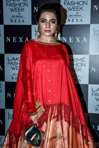 The Lakme Fashion Week Red Crapet Photos