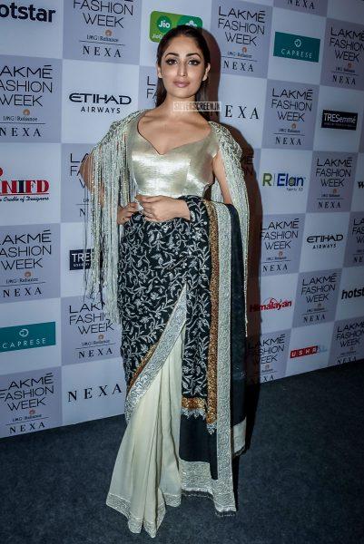 Yami Gautam At The Lakme Fashion Week