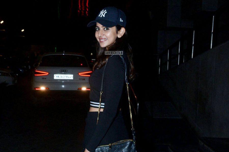 Nushrat Bharucha, Kartik Aaryan At The Screening Of 'Sonu Ke Titu Ki Sweety'