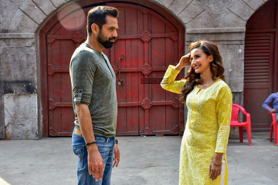 Patralekha, Abhay Deol During A Photo Shoot For ' Nanu Ki Janu'